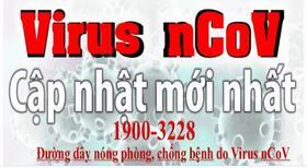 Cập nhật mới nhất về dich cúm corona